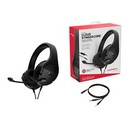HyperX Cloud Stinger Core Headset for PC Auriculares Diadema Negro