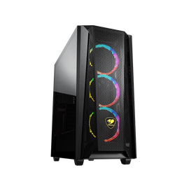 COUGAR Gaming MX660 Mesh RGB Desktop PC Case Negro